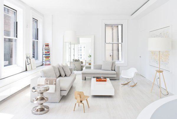 Resolution: 4 Architecture  Union Square Loft New York, NY  Living Room / Upper Communal Area  http://www.re4a.com/residential#/wadia-residence/ Photo 3 of Resolution: 4 Architecture - Union Square Loft modern home