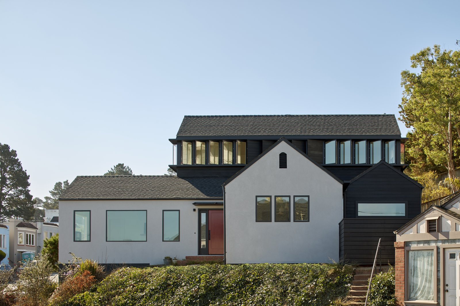 Front Elevation 1  A-to-Z House by Spiegel Aihara Workshop