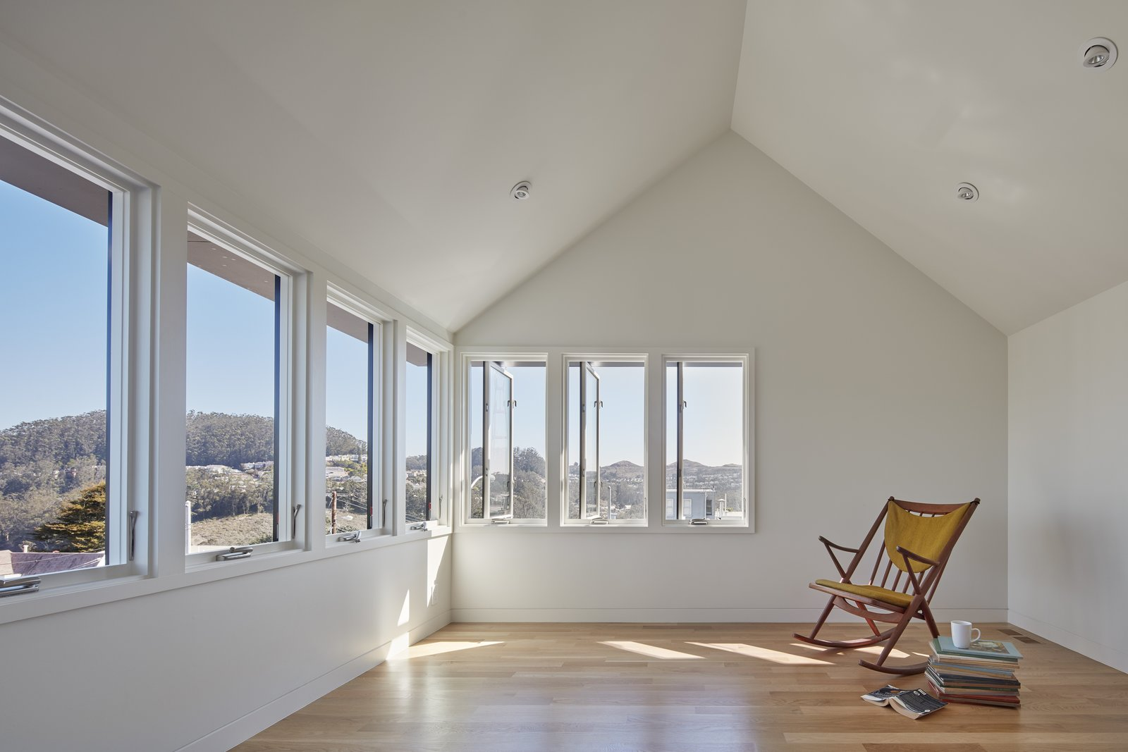 Sunny Vantage Point with Views Over the Bay