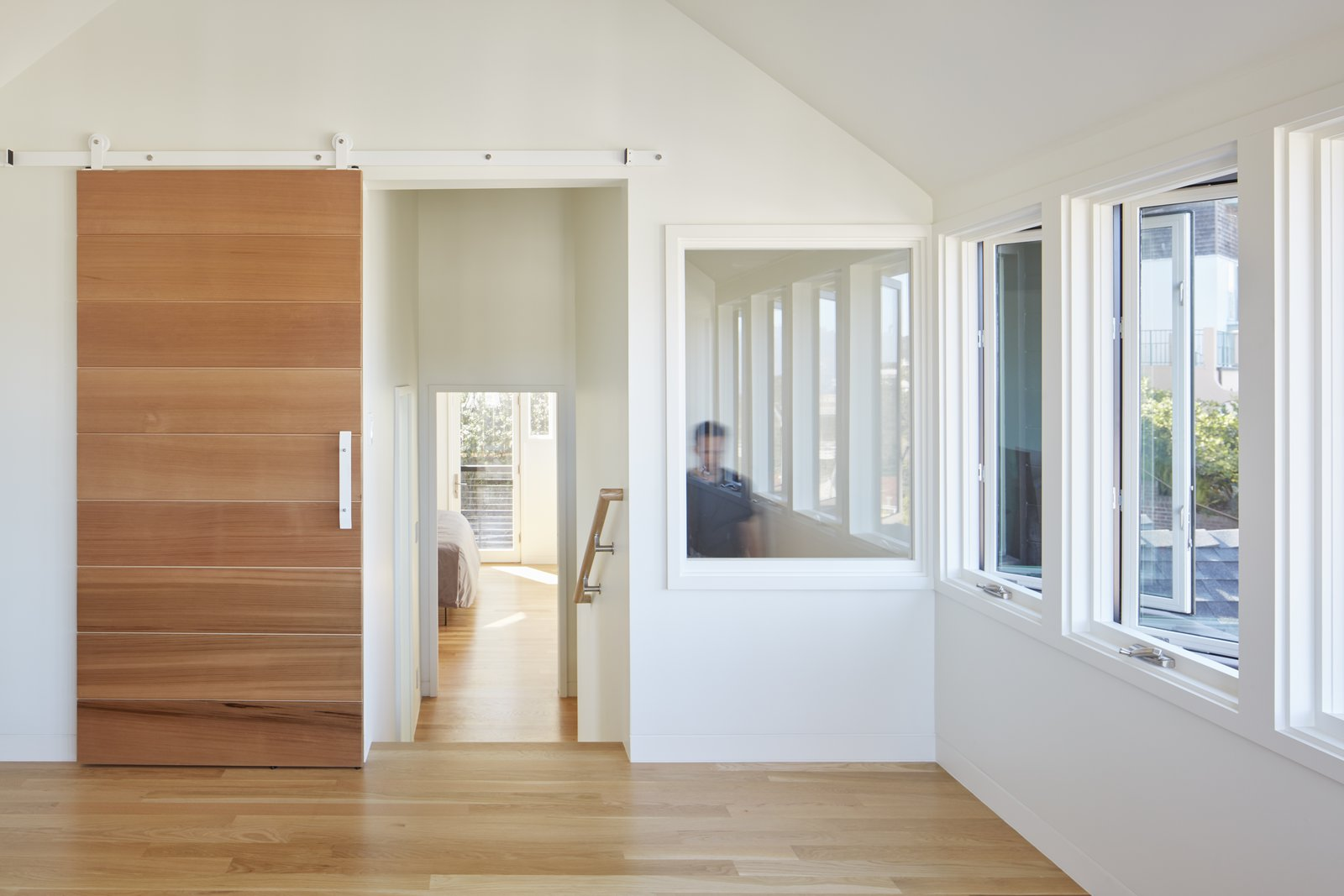 Ribbon Window from the Den  A-to-Z House by Spiegel Aihara Workshop