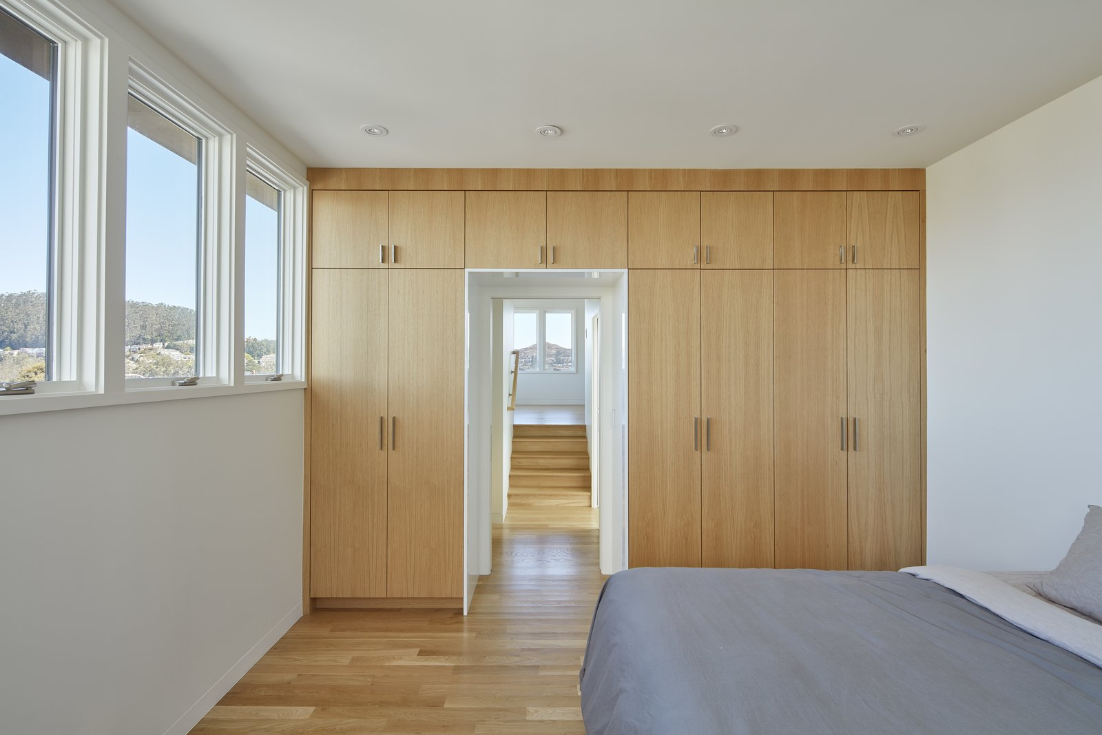 Bedroom through to the Den  A-to-Z House by Spiegel Aihara Workshop