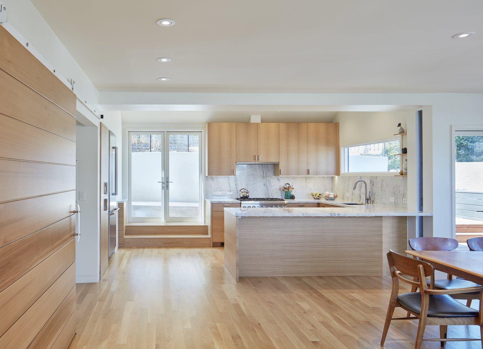 Kitchen Opens to Patio