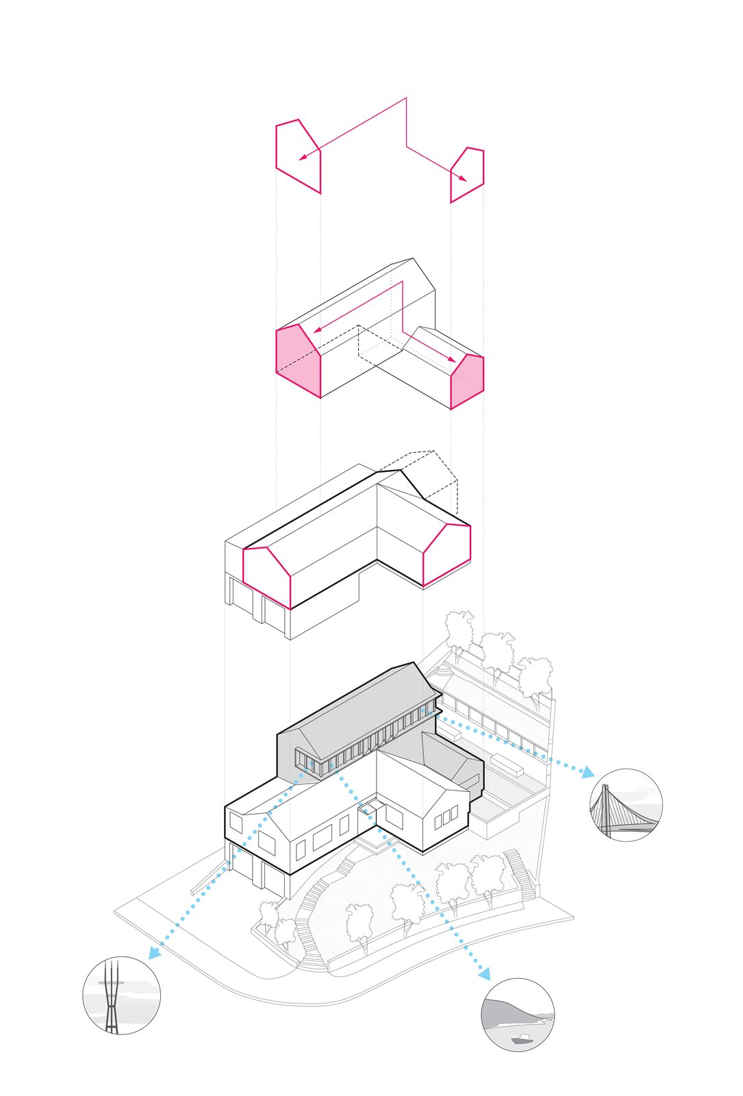 A-to-Z Diagram  A-to-Z House by Spiegel Aihara Workshop