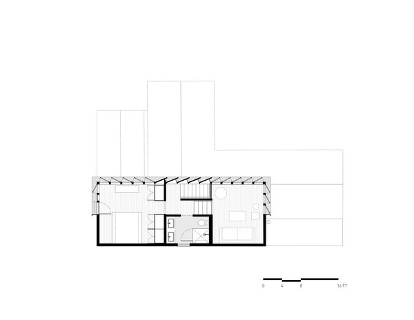 2nd Floor Plan Photo 16 of A-to-Z House modern home