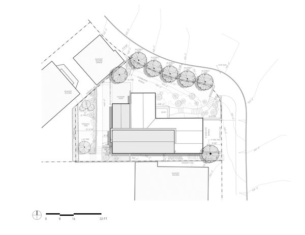 Site Plan Photo 18 of A-to-Z House modern home