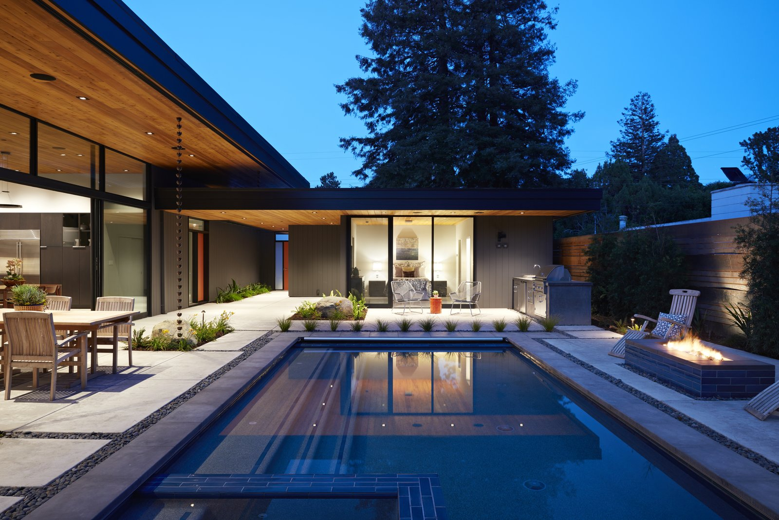 Tagged: Exterior, House, and Mid-Century Building Type.  Klopf Architecture by Klopf Architecture