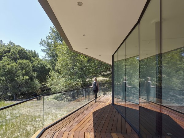 Front deck Photo 6 of Box on the Rock modern home
