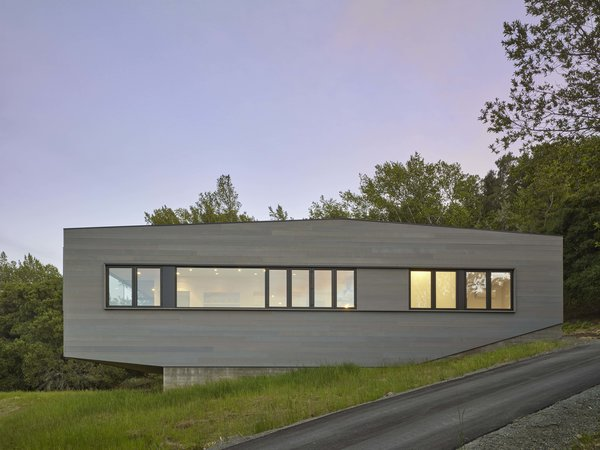 Side Elevation Photo 7 of Box on the Rock modern home