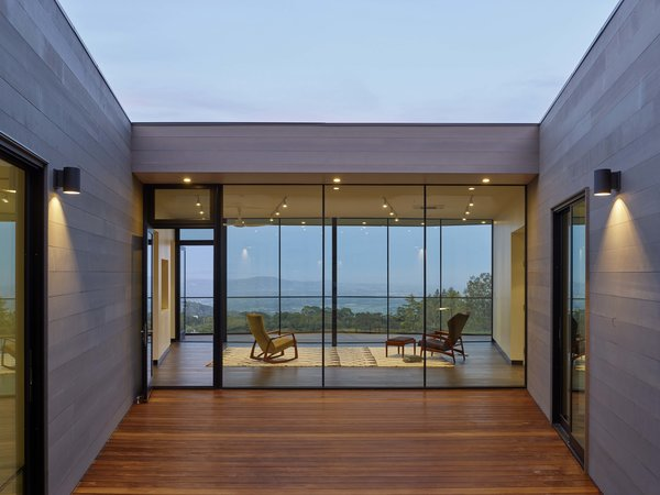 Entry Court Photo 8 of Box on the Rock modern home