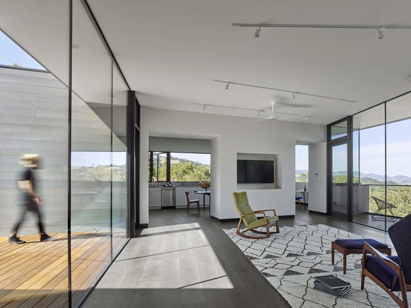 Living Room Photo 9 of Box on the Rock modern home