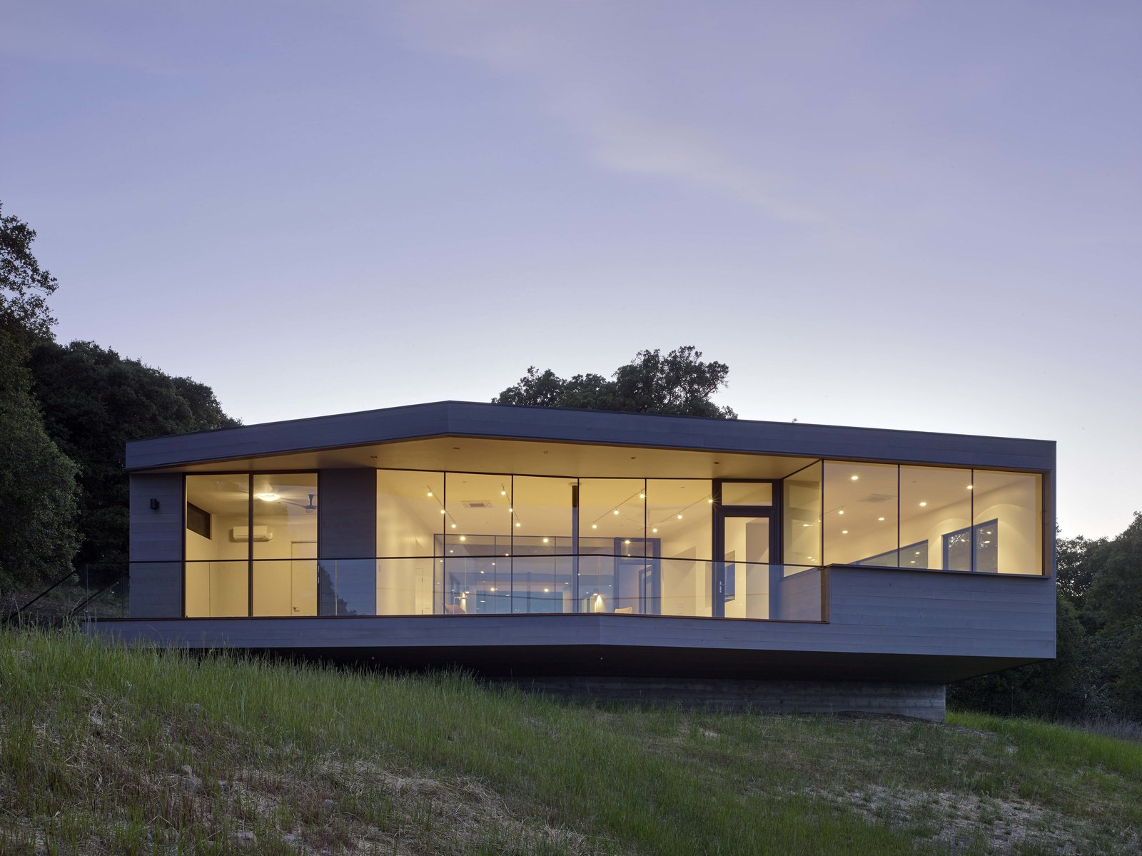 Tagged: Exterior, House, and Wood Siding Material.  Box on the Rock by Schwartz and Architecture