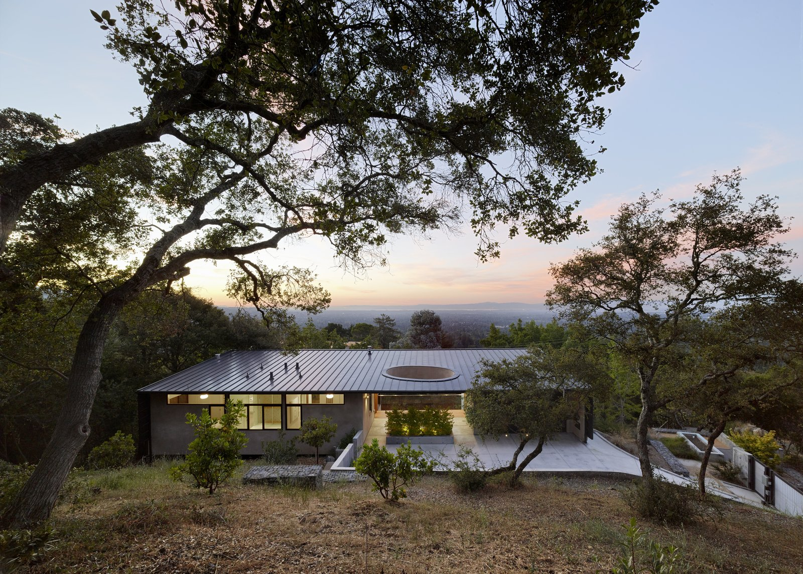Tagged: Exterior, House, Metal Roof Material, and Shed RoofLine.  Overlook Guest House by Schwartz and Architecture