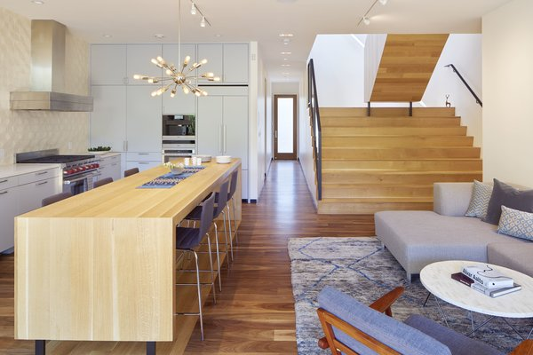 Modern home with living room. Photo 12 of 29th Street Residence