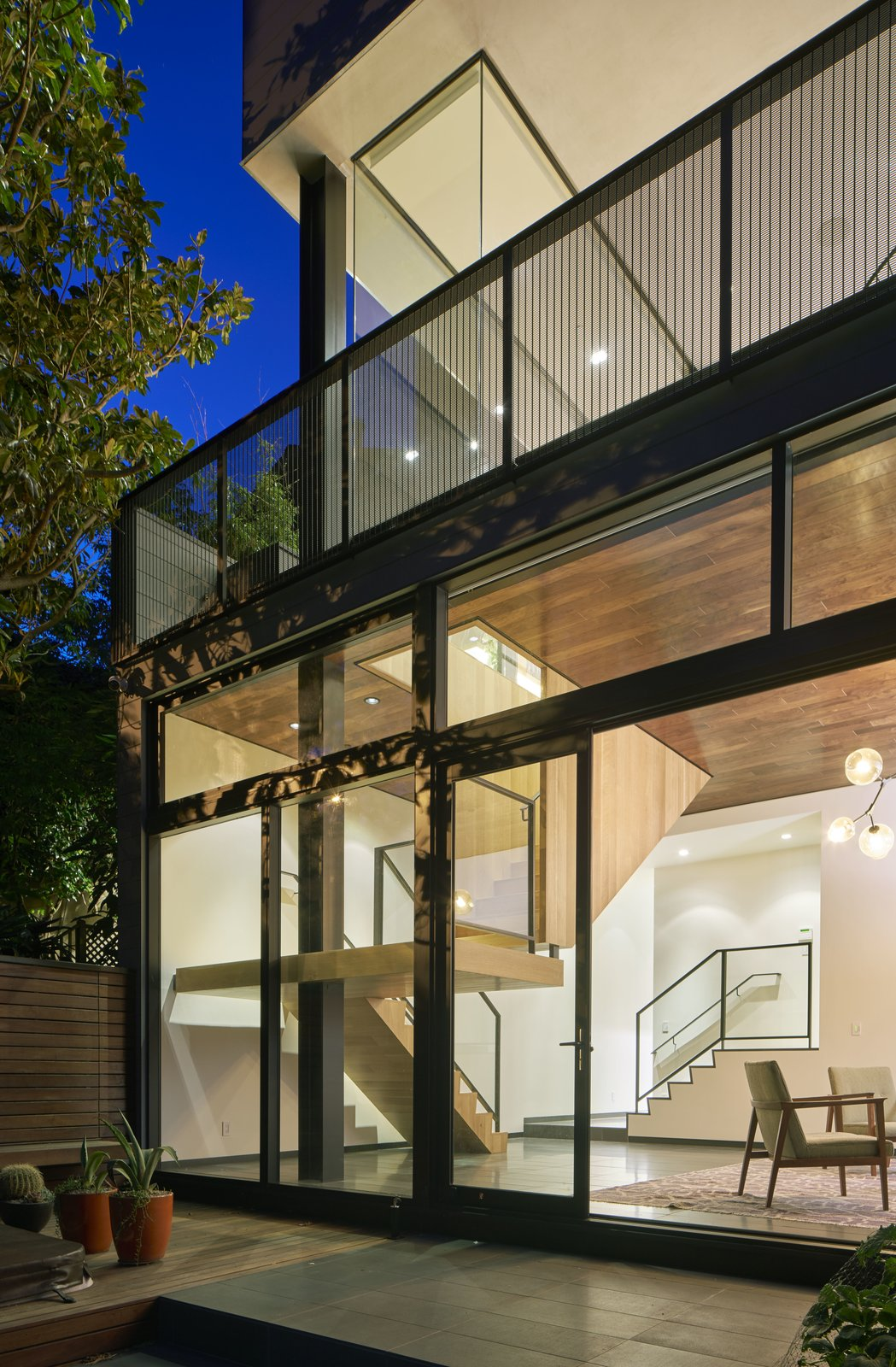 Tagged: Outdoor, Small Patio, Porch, Deck, Concrete Patio, Porch, Deck, and Wood Patio, Porch, Deck.  29th Street Residence by Schwartz and Architecture