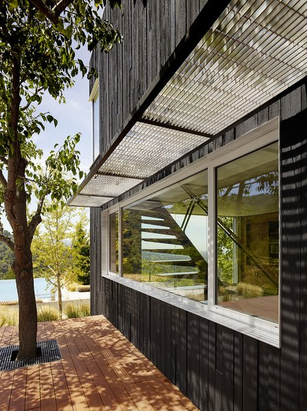Modern home with outdoor. Photo 18 of Shou Sugi Ban House