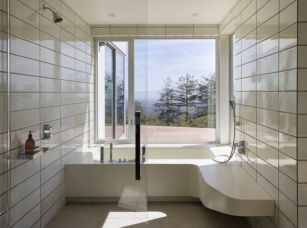 Modern home with bath room. Photo 16 of Shou Sugi Ban House
