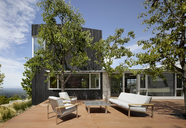 Modern home with outdoor. Photo 20 of Shou Sugi Ban House