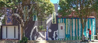 Discover One of the Most Colorful Streets in Buenos Aires - Photo 2 of 7 - Marino Santa Maria covered Pasaje Lanín with Venetian mosaics and tile murals with a team of 20 neighborhood volunteers.