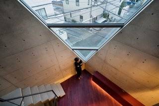 A Concrete Micro-House in Japan Works All the Angles