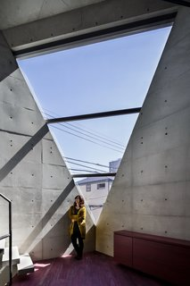 A Concrete Micro-House in Japan Works All the Angles - Photo 4 of 15 -