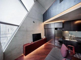 A Concrete Micro-House in Japan Works All the Angles - Photo 12 of 15 -