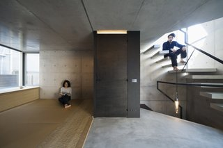A Concrete Micro-House in Japan Works All the Angles - Photo 13 of 15 -