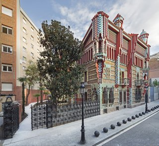 Gaudí's Fantastic Casa Vicens Opens to the Public For the First Time - Photo 1 of 11 -