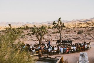 10 Modern Wedding Venues That Will Make Your Big Day Unforgettable - Photo 7 of 10 - Rimrock Ranch, Pioneertown, California