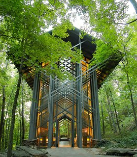 10 Modern Wedding Venues That Will Make Your Big Day Unforgettable - Photo 8 of 10 - Thorncrown Chapel, Eureka Springs, Arkansas