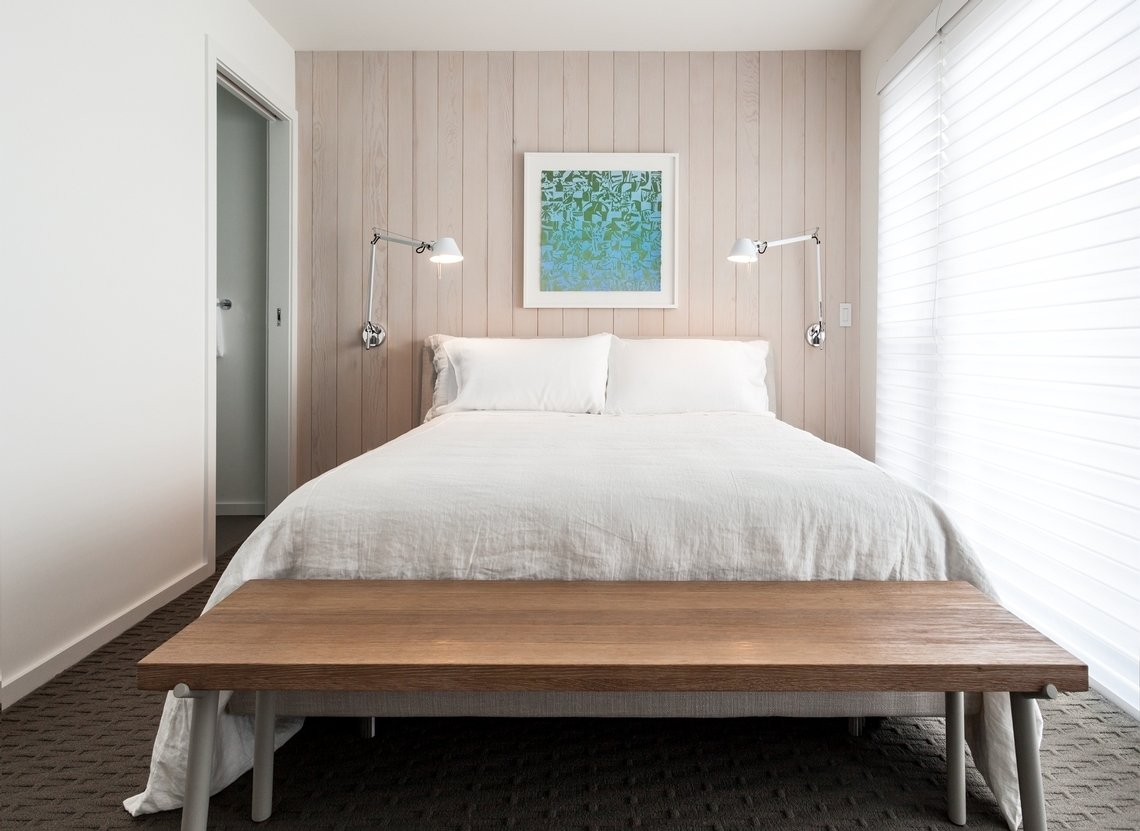Master Tagged: Bedroom.  Tahoe Lakefront by Popp Littrell Architecture + Interiors