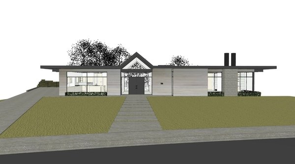 Folsom Photo  of Renderings modern home