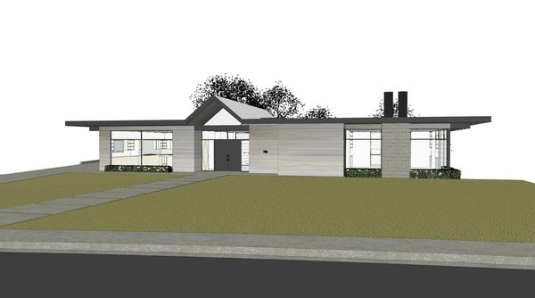 Folsom Photo 2 of Renderings modern home