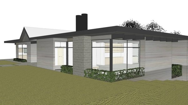 Folsom Photo 3 of Renderings modern home