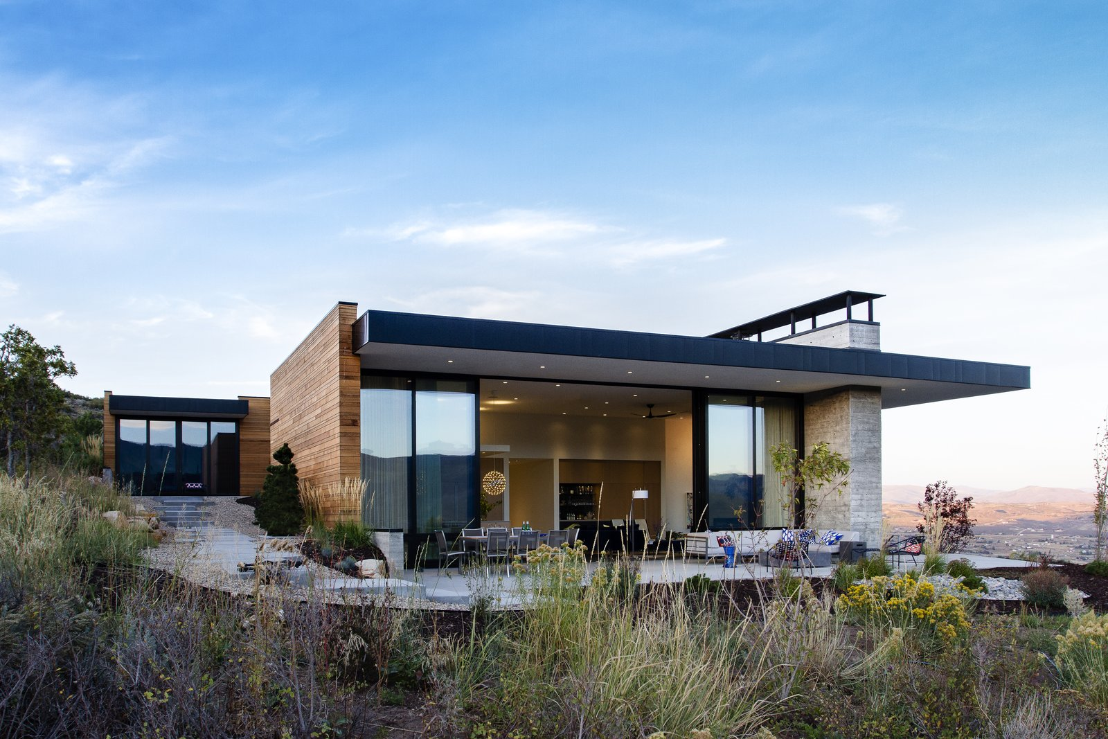 Park City Modern Residence by Sparano + Mooney Architecture