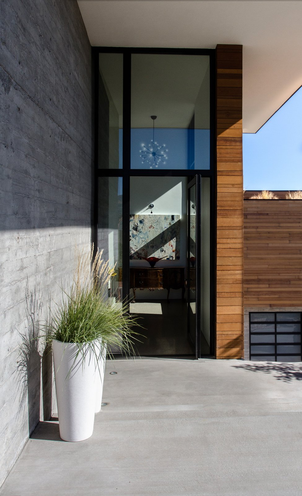 Tagged: Doors, Swing Door Type, Metal, and Exterior.  Park City Modern Residence by Sparano + Mooney Architecture