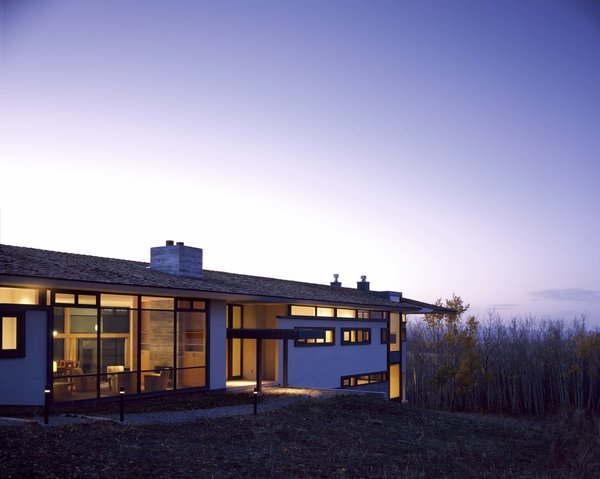 Photo  of Wyoming Canyon Ranch modern home