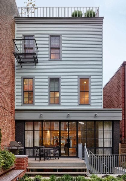 Photo 8 of Greenpoint Row House modern home