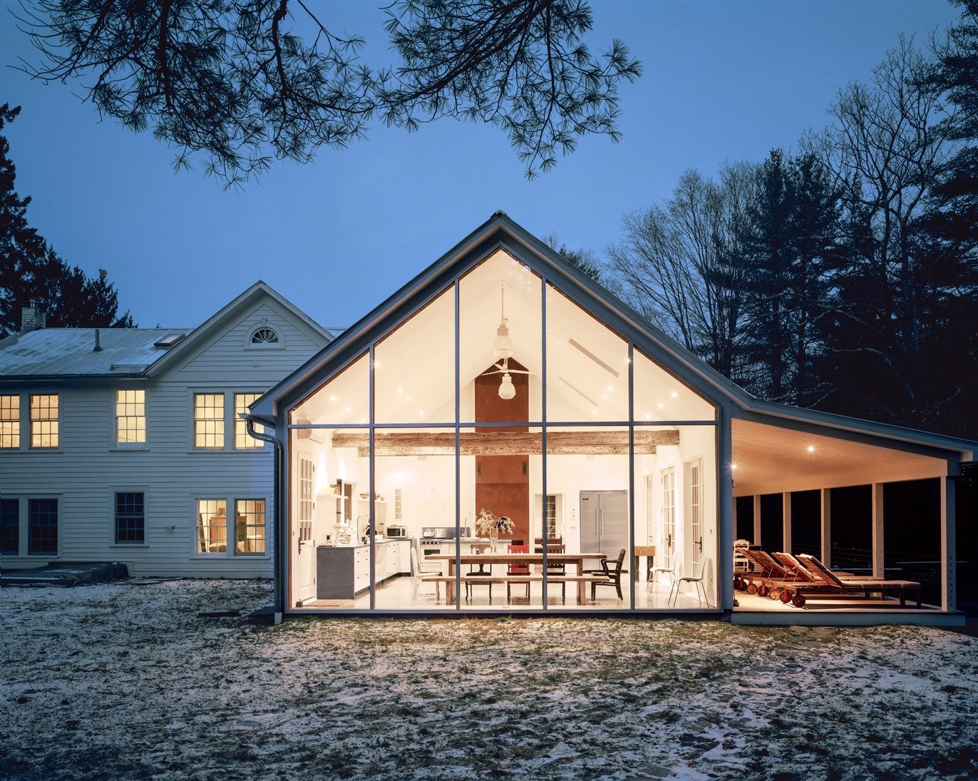 floating farmhouse Collection of 21 s by Tom Givone Dwell