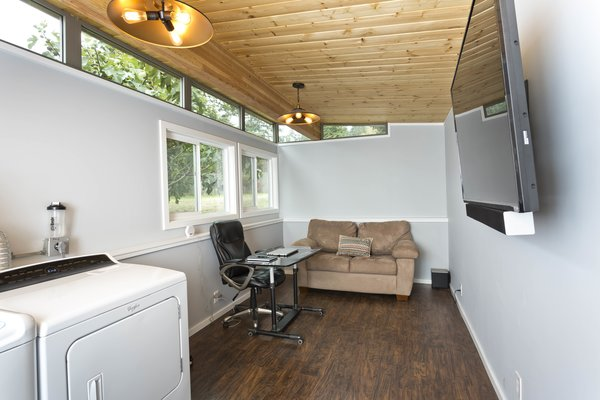 Photo  of Modern-Shed Man Cave and Office modern home