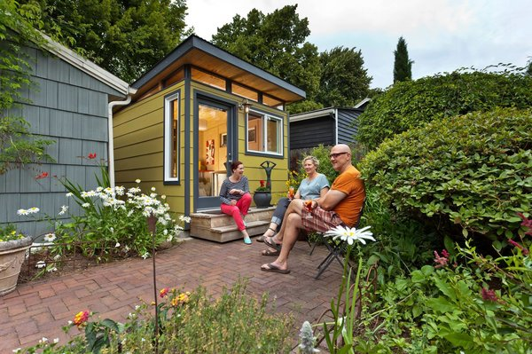 Photo 5 of Modern-Shed Stylish Portland Home Office modern home