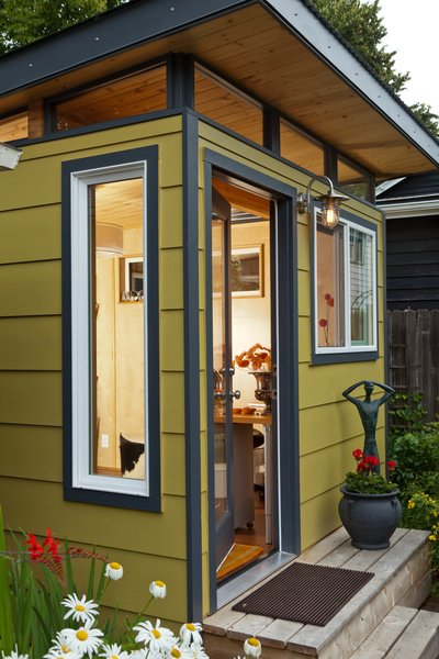 Photo 7 of Modern-Shed Stylish Portland Home Office modern home