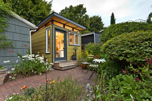 Photo 4 of Modern-Shed Stylish Portland Home Office modern home