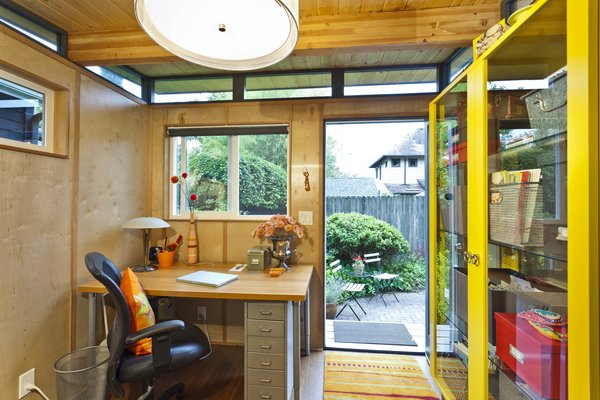 Photo 2 of Modern-Shed Stylish Portland Home Office modern home