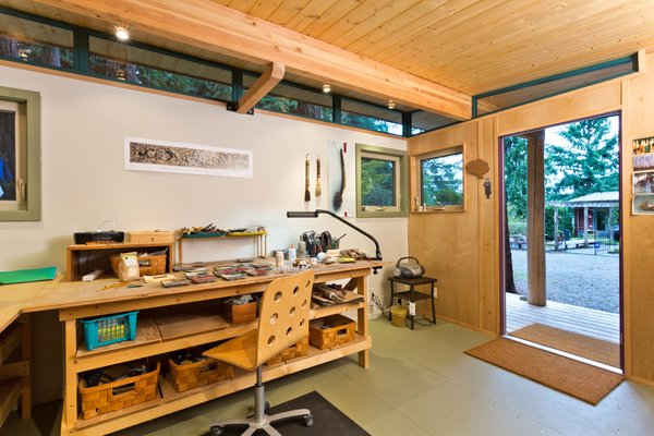 Photo  of Modern-Shed Island Craft Studio modern home