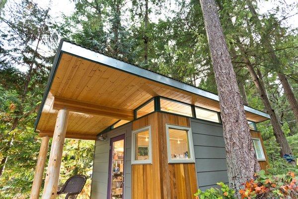 Photo 4 of Modern-Shed Island Craft Studio modern home