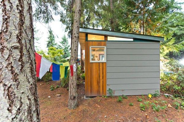 Photo 3 of Modern-Shed Island Craft Studio modern home