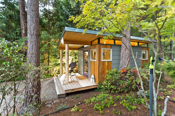 Photo 7 of Modern-Shed Island Craft Studio modern home