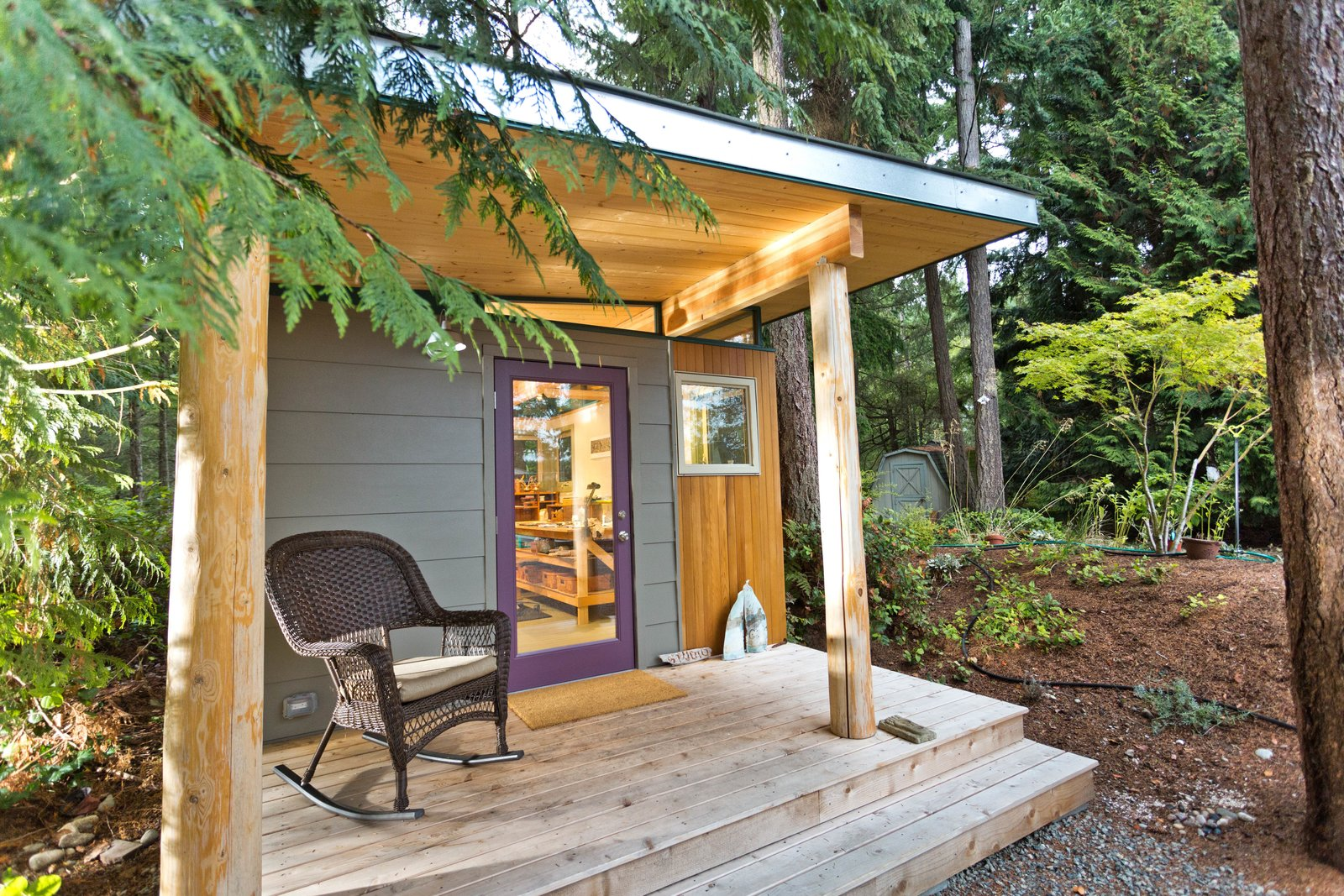 Photo 8 of 8 in 8 Inspirational Island Prefabs from Modern-Shed | Sacred Studio