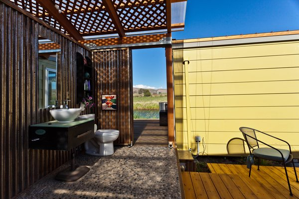 Indoor-outdoor living at its finest! Photo 6 of Modern-Shed Ellensburg Farm Shed Complex modern home