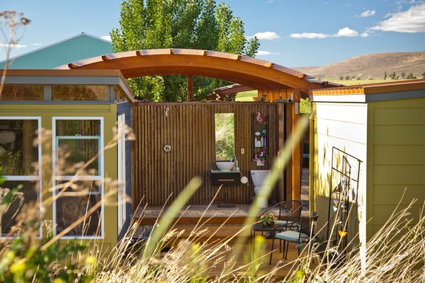 Photo 2 of Modern-Shed Ellensburg Farm Shed Complex modern home